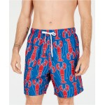 Mens 7 Lobster Graphic Swim Trunks, Created for Macys