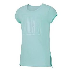 Big Girls Logo-Print Vented-Hem T-Shirt
