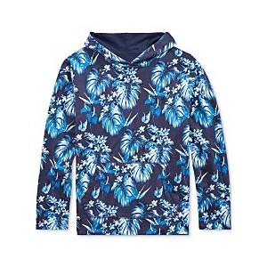 Big Boys Reversible Cotton Hooded T-Shirt