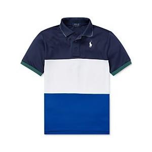 Big Boys Tech Mesh Polo Shirt