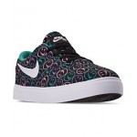 Little Boys SB Check Canvas Skateboarding Sneakers from Finish Line