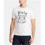 Mens Custom Slim Fit Graphic Cotton T-Shirt