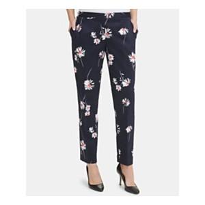Floral-Print Slim-Leg Pants, Created for Macys