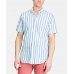 Mens Classic-Fit Striped Shirt