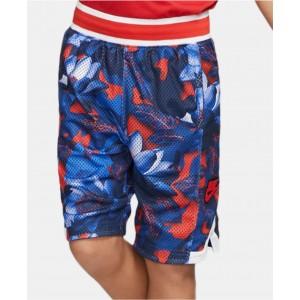 Big Boys Dri-FIT Printed Basketball Shorts
