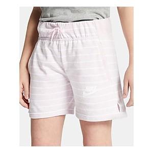 Big Girls Striped Shorts