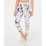 Magnolia Printed High-Waist Cropped Leggings