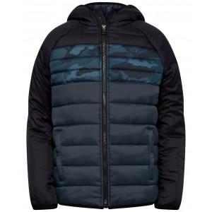 Big Boys Pronto Printblock Puffer Hooded Jacket