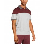 Mens Colorblock Interlock Polo Shirt