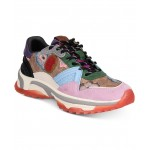 Womens C143 Printed Runner Sneakers