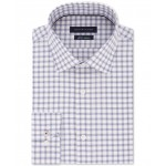 Mens Slim-Fit Non-Iron THFlex Supima Performance Stretch Check Dress Shirt