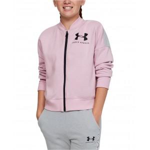 Big Girls Colorblocked Fleece Track Jacket