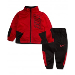 Baby Boys 2-Pc. Colorblocked Jacket & Jogger Pants Track Set