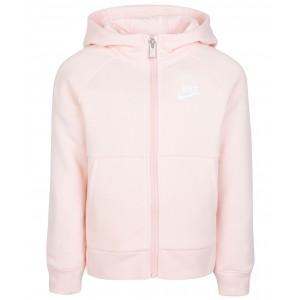 Toddler Girls Sportswear Zip-Up Hoodie