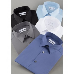 Mens Slim-Fit Stretch Flex Collar Dress Shirt, Online Exclusive Created for Macys