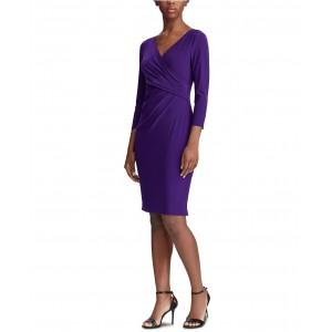 Jersey Three-Quarter-Sleeve Dress