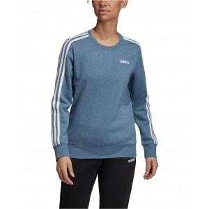 Essentials 3-Stripe Fleece Sweatshirt