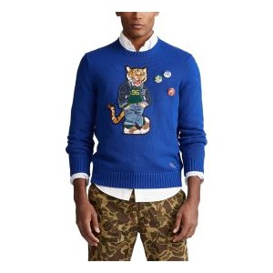 Mens Polo Tiger Sweater