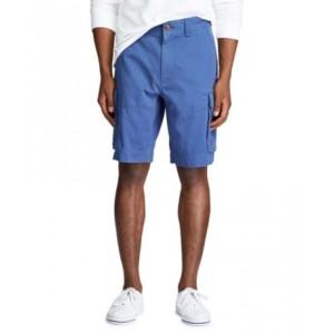 Mens Big & Tall Classic-Fit Cotton Cargo Shorts