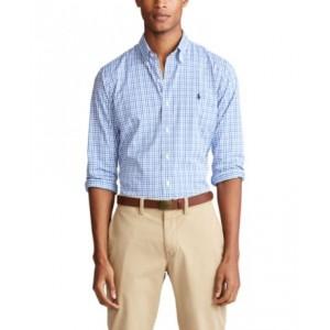 Mens Big & Tall Classic-Fit Plaid Shirt