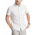 Mens Armstrong Geo-Print Shirt, Created for Macys