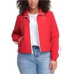 Trendy Plus Size Coaches Track Jacket