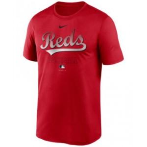 Cincinnati Reds Mens Authentic Collection Legend Practice T-Shirt