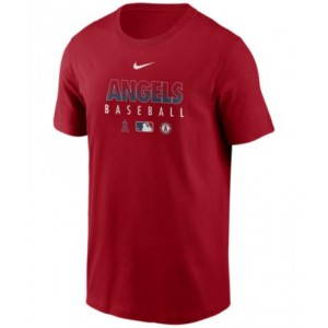 Los Angeles Angels Mens Early Work Dri-Fit T-Shirt
