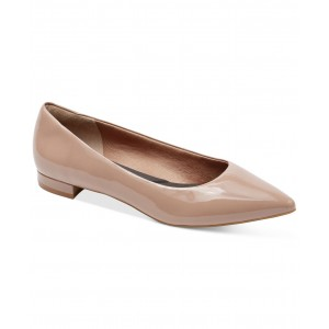 Womens Total Motion Adelyn Pointed-Toe Ballet Flats