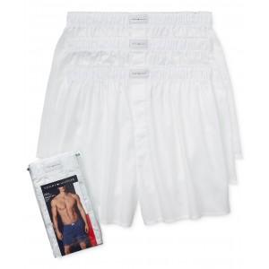 Mens 3 Pack Woven Cotton Boxers