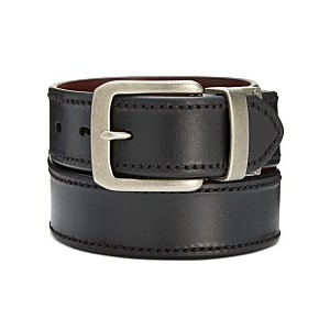 Mens Reversible Casual Leather Belt