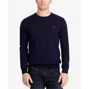 Mens Big & Tall Merino Wool Sweater