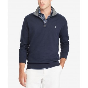 Mens Big & Tall Luxury Jersey Pullover