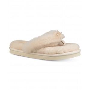 Womens Fluff Flip-Flop III Slippers