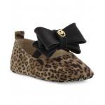 Baby Girls Animal-Print Slip-On Shoes