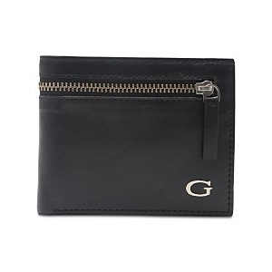 Mens Gable Zip Leather Wallet