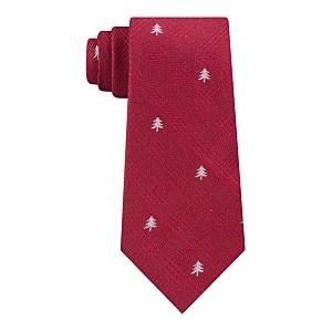 Mens Holiday Tree Tie