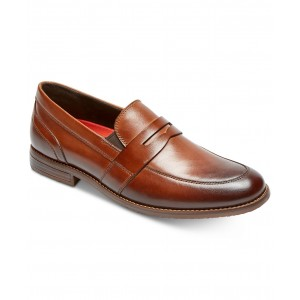 Mens Double Gore Penny Loafers