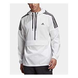 Mens Sport ID Half-Zip Hooded Jacket