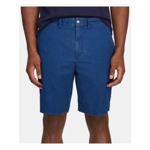 Mens Classic-Fit Seersucker Shorts