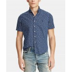 Mens Classic-Fit Tropical Shirt