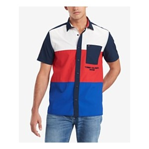Mens Colorblocked Shirt, Created for Macys