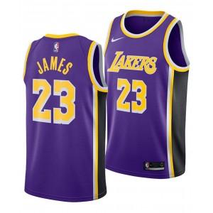 Mens LeBron James Los Angeles Lakers Statement Swingman Jersey