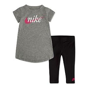 Baby Girls 2-Pc. Printed T-Shirt & Leggings Set