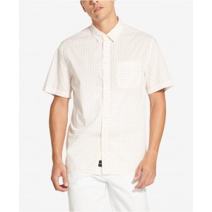 Mens Mini Geo-Print Shirt
