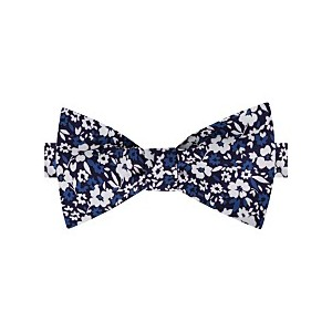 Mens Chelsea Botanical To-Be Tied Silk Twill Bow Tie