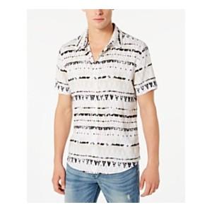 Mens Rogan Zig-Zag Stripe Shirt