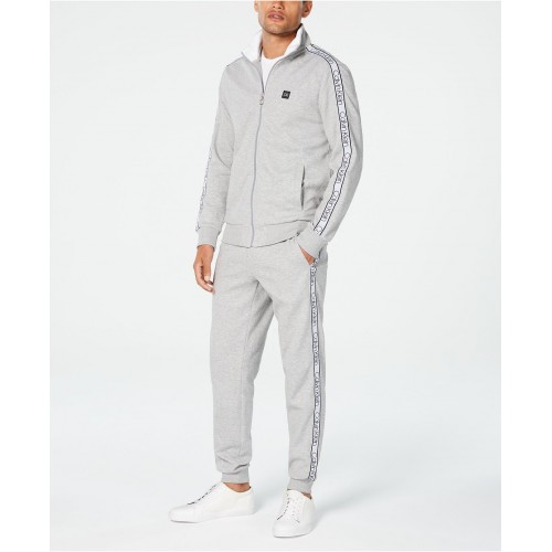 켈빈클라인 Mens Zip-Front Sweatshirt