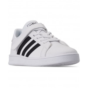 Little Boys Grand Court Stay-Put Closure Casual Sneakers from Finish Line