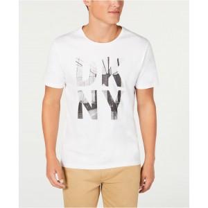 Mens Cityscape Logo Graphic T-Shirt